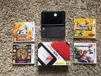3ds xl with 5 games