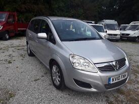 2010 (10) Vauxhall Zafira 1.9CDTi Exclusiv 7 Seater