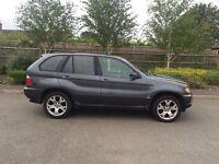 2001 51 PLATE BMW X5 LPG 5 DOOR ESTATE MANAUL GREY £1950