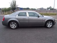 "CHRYSLER 300C 3.0 CRD V6 4 DOOR AUTOMATIC 218BHP FULL SERVICE HISTORY 2007 ""07"" REG 60,000 MILES"