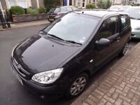 Hyundai Getz 2006 3-door petrol 1.1l. One owner from new. 12 months on MOT