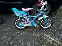 Kids small power puff bike