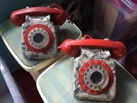 Vintage working telephone