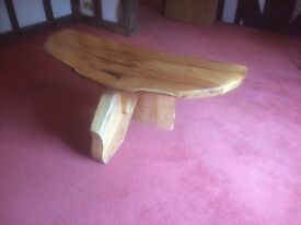 Timber coffe table
