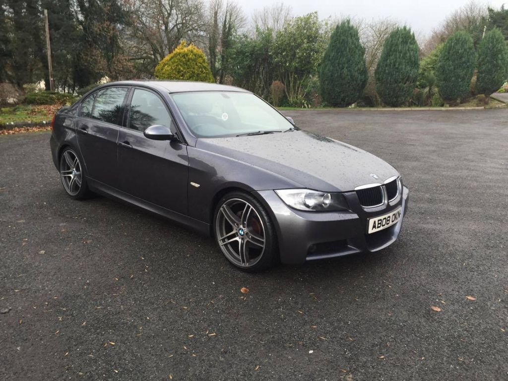 2008 bmw 320d m sport auto only 54 000 miles finance available in newry county. Black Bedroom Furniture Sets. Home Design Ideas