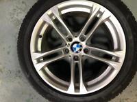 BMW f10 alloy wheels 18inch