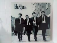 The Beatles Glass Wall Art