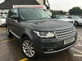 LAND ROVER RANGE ROVER 3.0TD V6 (258bhp) 4X4 Vogue (s/s) Station Wagon 5d (grey) 2015
