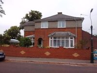 We have a bedroom with a double bed in a detached home fronting a beautiful Park