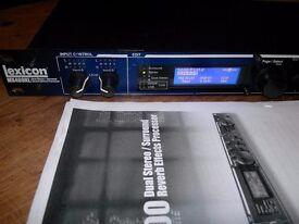 Lexicon MX400XL - reverb/multi-fx rack unit - BARGAIN!
