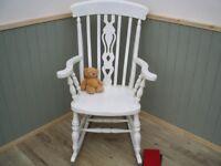 Stunning Pine Rocking Chair