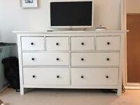 HEMNES Chest of 8 drawers - white