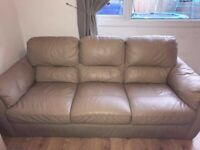 FREE leather sofa no rips or tears