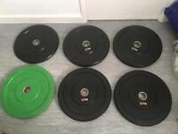Olympic Bumper Size Plates