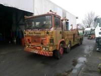 Erf c series recovery truck breaking