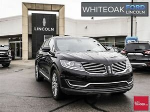 2016 Lincoln MKX Reserve, vista roof, navi, 102a package, not a