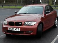 BMW 1 Series 120D Coupe.
