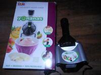 yonanas healthy ice cream maker boxed