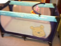 Dream and Play Travel Cot Winnie the Pooh