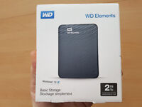 Brand new sealed 2 TB Portable HD PS4/XBOX 1