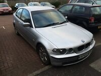 BMW 316 Ti 2003 compact spares or repair