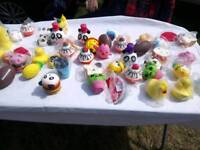 Various squishy toys