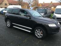 VOLKSWAGEN TOUAREG TDI PRIVATE PLATE TOP OF THE RANGE 4x4 MAY SWAP PX