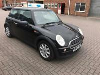 mini one 2003 03 plate 1.6 petrol 106k 2 owner from new service history mot