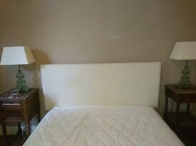 King size Headboard & Bed