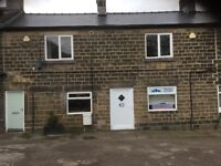 Charming retail shop / offices to rent in Oughtibridge Sheffield .