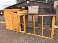Dog Kennel with Run