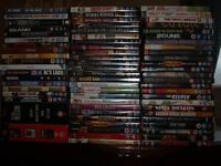 More than 100 DVDs some still in wrappper