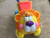 Fisher Price Walk & Ride on lion