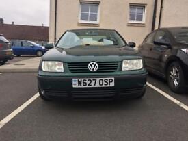 Lowered VW Bora 1.6l