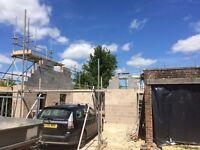 Bricklayer looking for weekend work