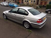 2002 BMW 320D se full years mot and private plate