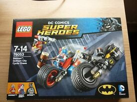 Lego Batman Gotham City Cycle Chase
