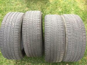 4 Michelin Latitude Tour HP - 235/55/18 - 60% - $80 For All 4