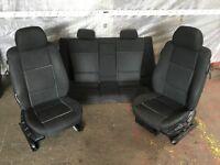 BMW E46 Coupe Anthracite Black Interior Seats Breaking 318Ci 320Ci 323Ci 325Ci 328Ci 330Ci
