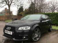 AUDI A3 BLACK EDITION 2009 P/X S3 - GOLF - BMW - LEON FR ?