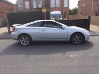 2002 TOYOTA CELICA VVTI 6SPD TOP OF THE RANGE ALL LEATHER MOTED WORKING AIR CON FSH