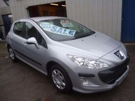 Peugeot 308 s 120,5 dr hatchback, clean tidy car,runs and drives well,low mileage,only 48 k,FL58JFE