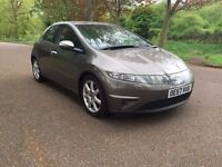 Honda Civic 2.2 Diesel EX 2008 5 Doors ***Sat Nav*Fully Loaded*Low Miles***