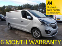 Vauxhall, VIVARO, Panel Van, 2015, Manual, 1598 (cc)