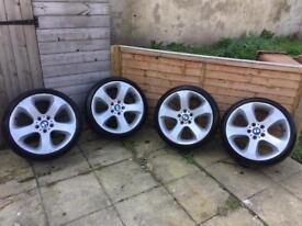 "BMW 19"" 5x120 alloy wheels"