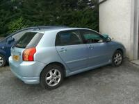 06 Toyota Corolla 1.6 Auto 5 door Moted only 47000 Mls
