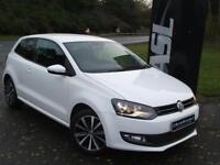 VOLKSWAGEN POLO 1.2 60 Match Edition 3dr (white) 2014