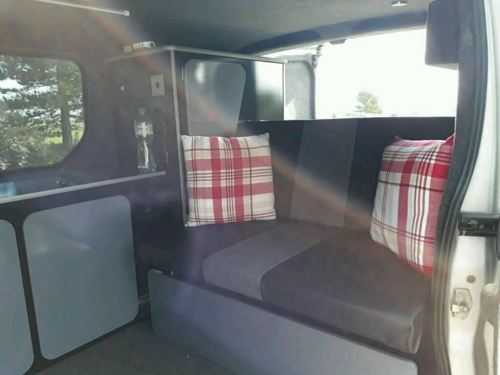 Vauxhall Vivaro Camper Van Conversion, Comfortably Sleeps 2, Air Con, Day Van, Great on Fuel, Towbar