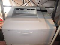 laser jet 5 PRINTER. Works well. With new toner cartridge and box cardridge worth £20 included.