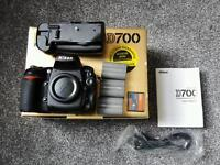 Nikon d700 plus battery grip